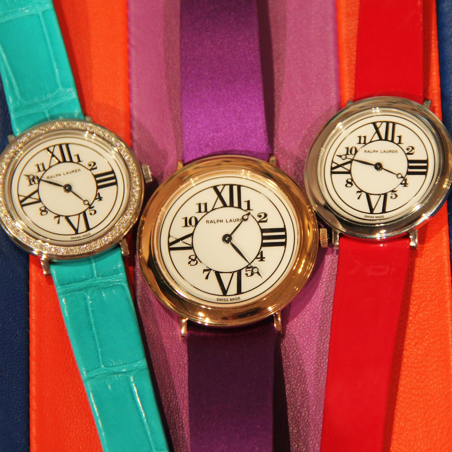 Ralph Lauren RL888 watches with interchangeable straps