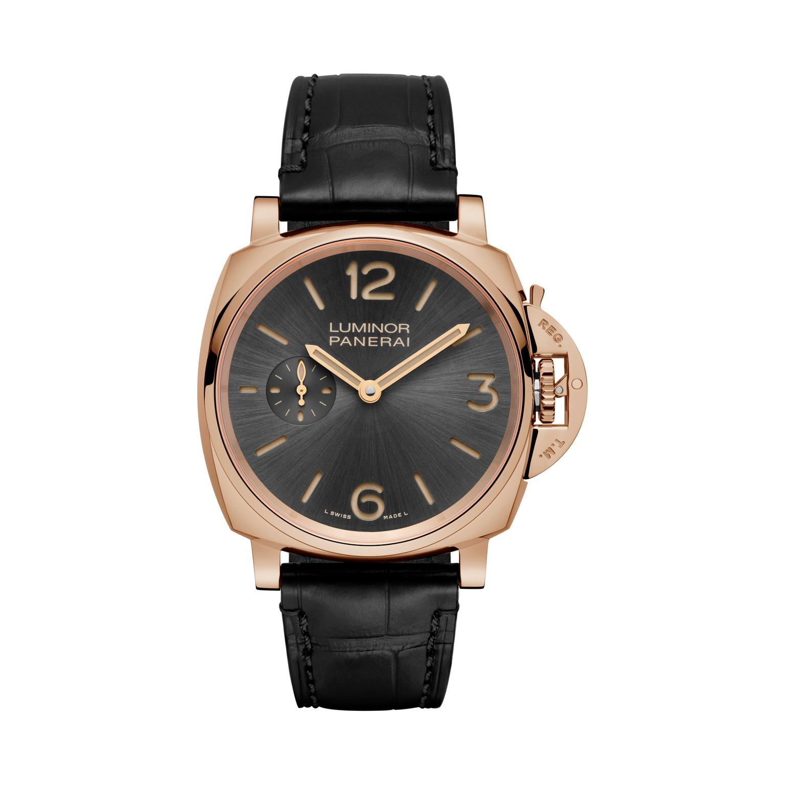 Panerai Luminor Due 42mm red gold