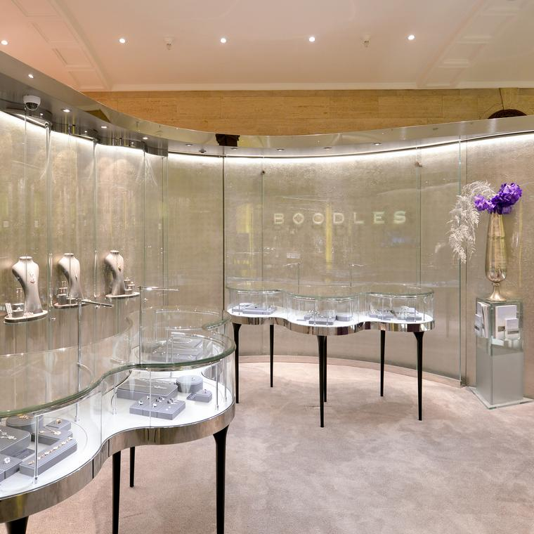 Boodles fine jewellery at Harrods