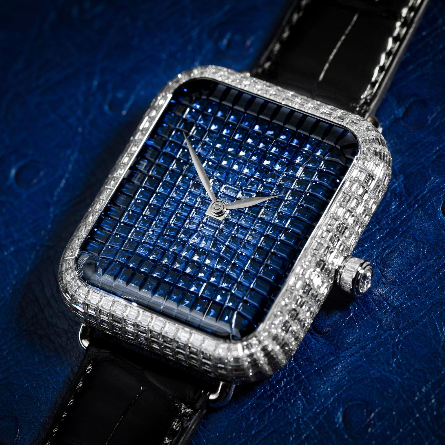 Are you man enough to wear a diamond watch?
