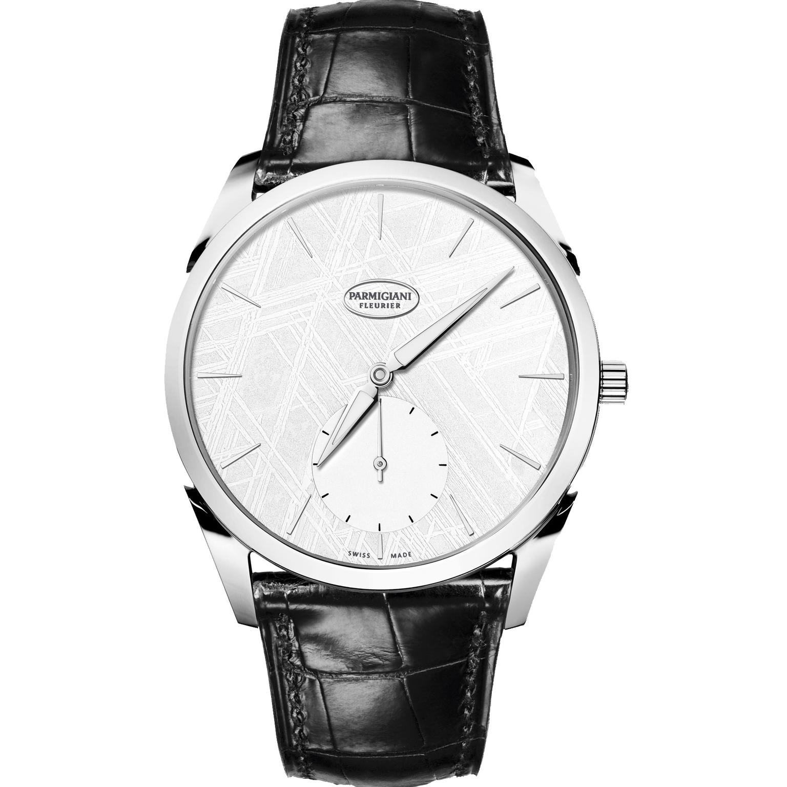 Parmigiani Tonda 1950 Meteorite watch in white