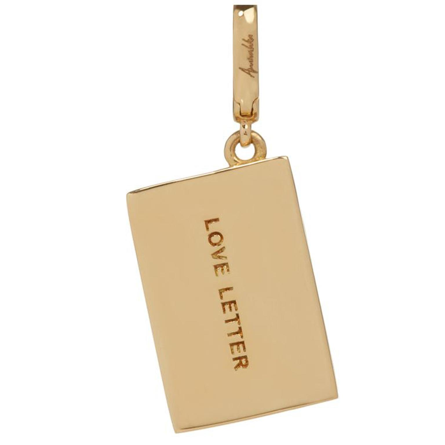 Annoushka The Vampire's Wife Yellow Gold Love Letter Charm