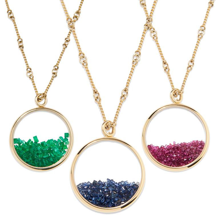 Aurélie Bidermann Chivor necklaces