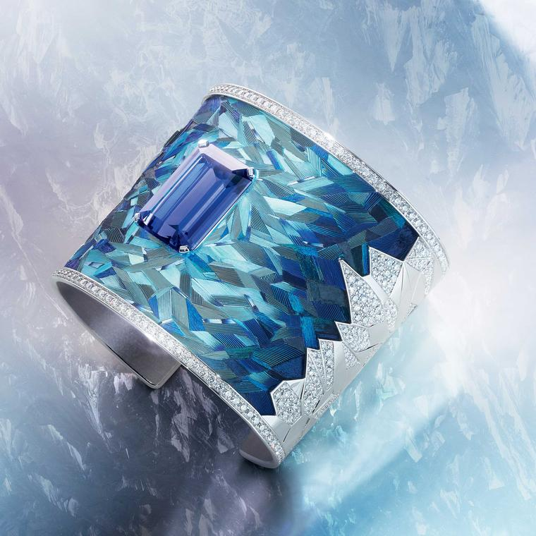 Piaget Sunlight Escape Blue Emotion Manchette