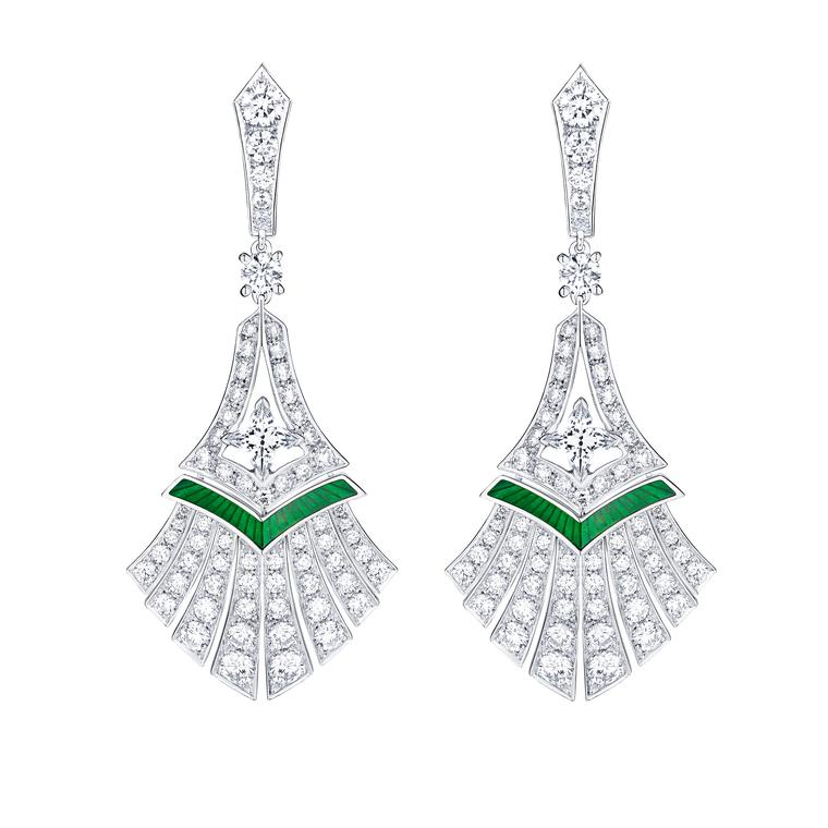 Louis Vuitton Acte V Escape Luxor earrings