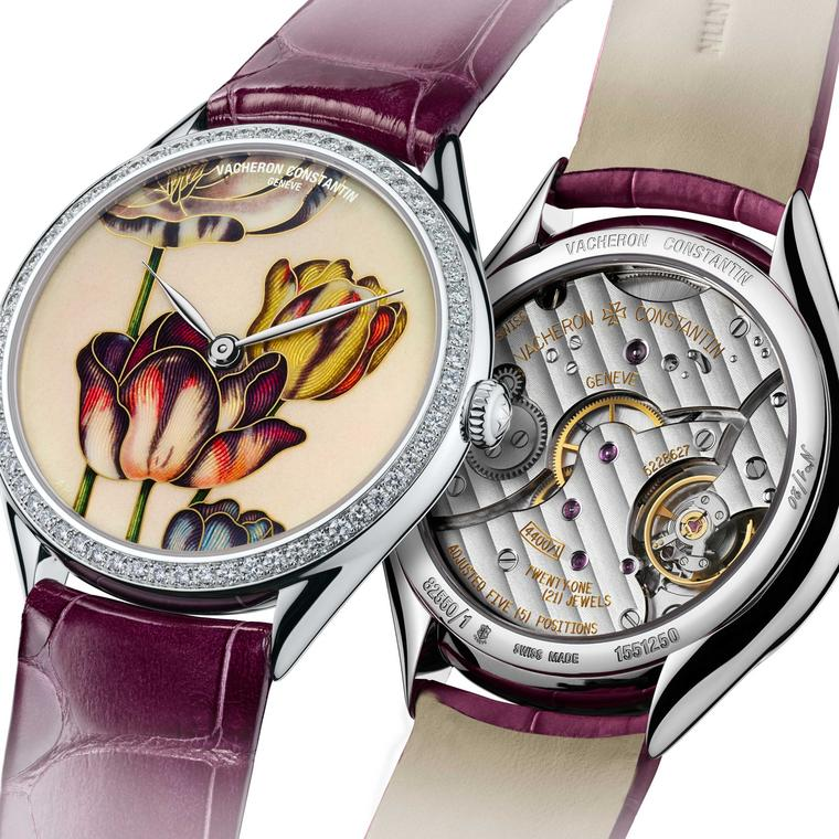Vacheron Constantin Florilège Tulips watch