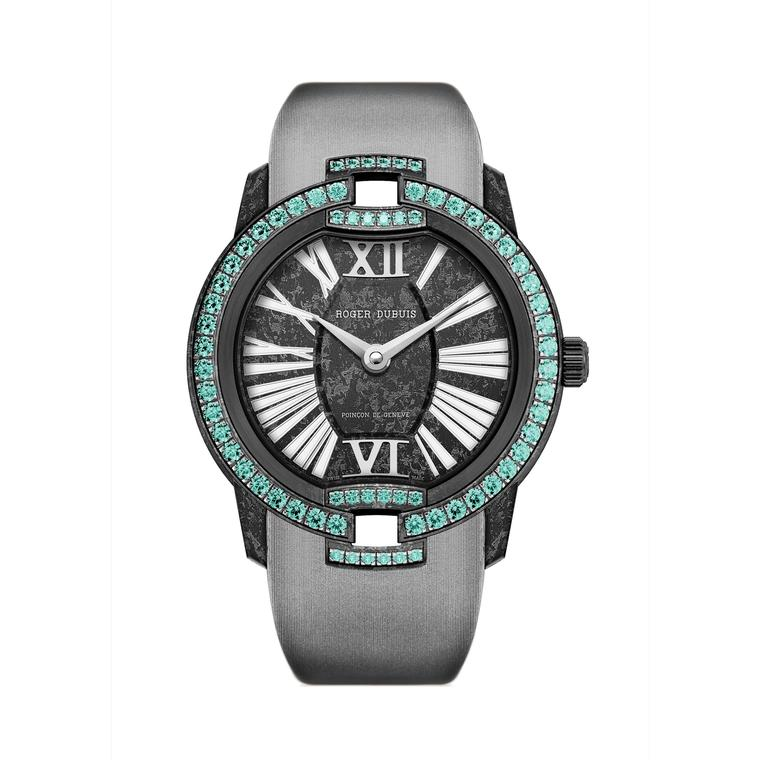 Black Velvet Paraiba watch