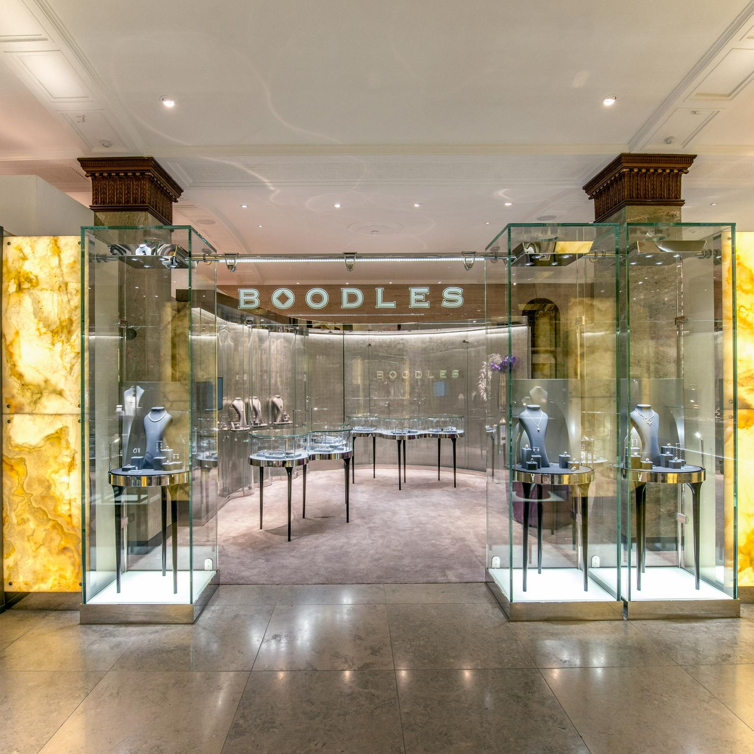Boodles boutique at Harrods