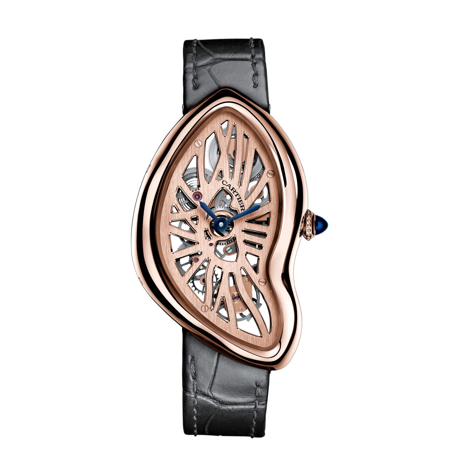 Cartier Crash Skeleton pink gold 2016