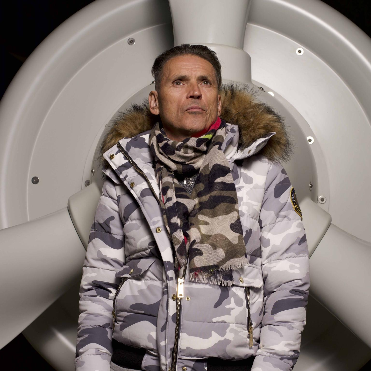 Dale Vince, CEO of Ecotricity and founder of SkyDiamond