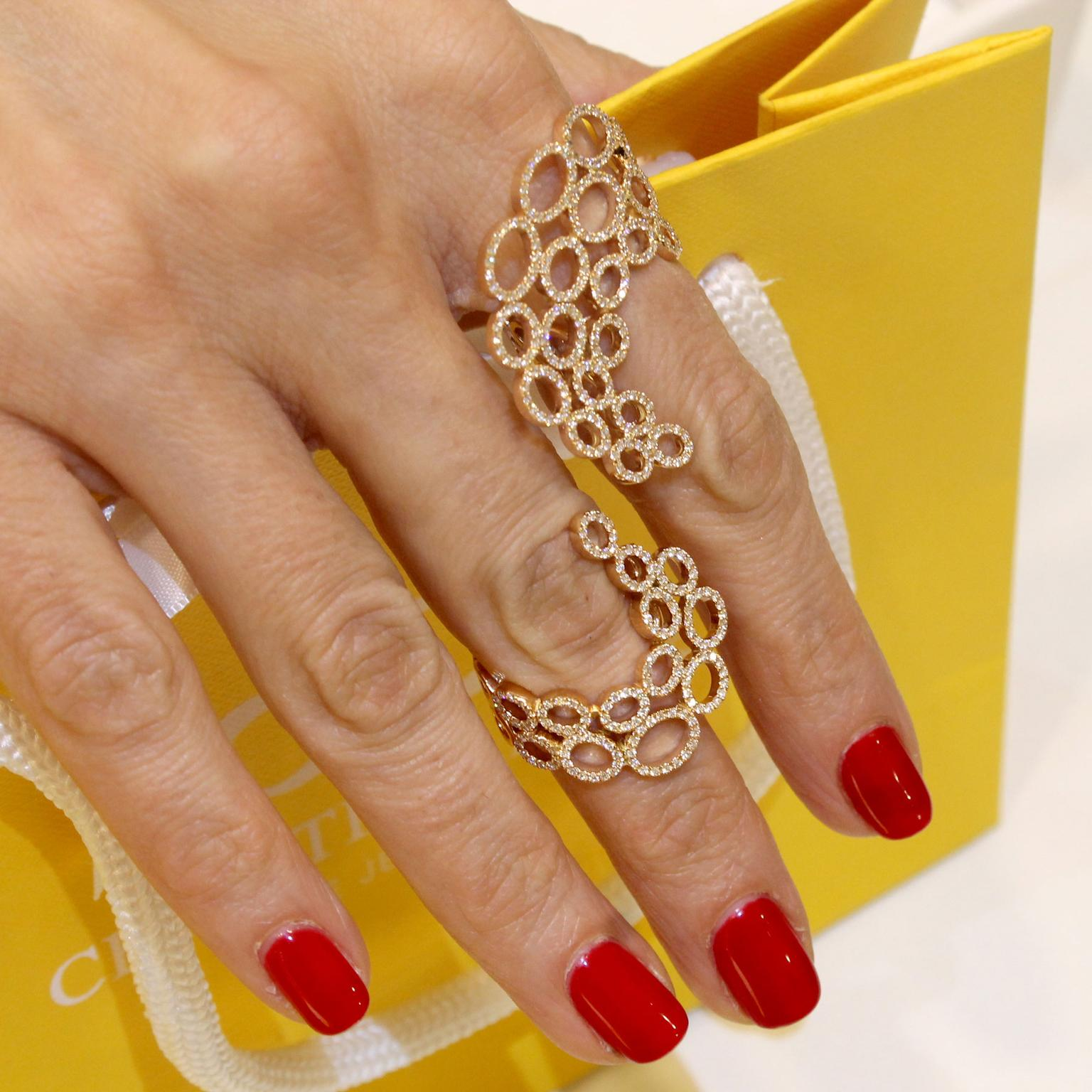 Christina Debs Lace rings