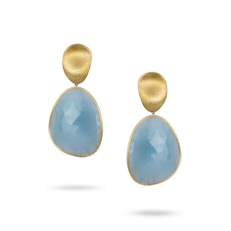 Marco Bicego Lunaria aquamarine earrings