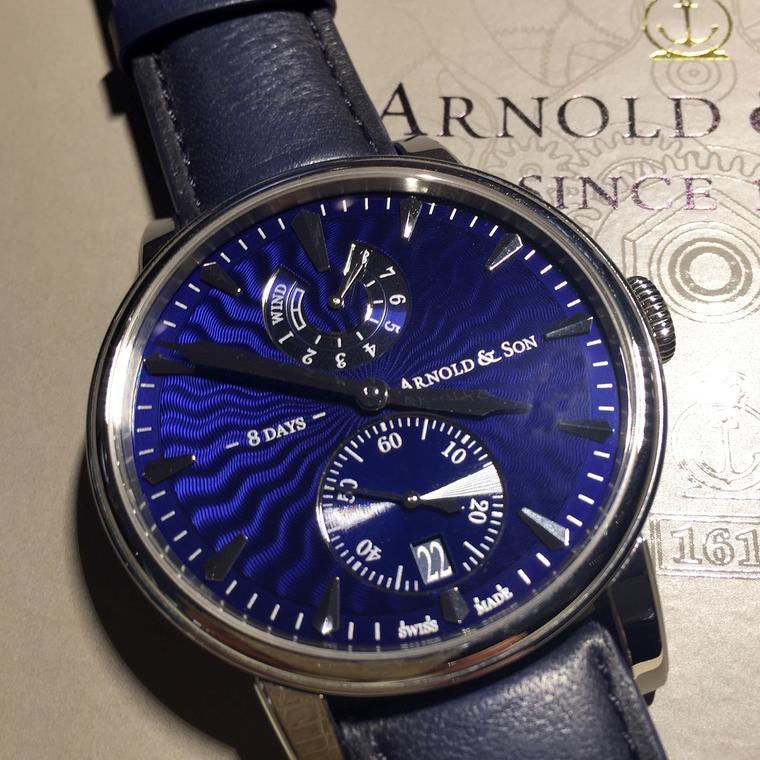 Arnold & Son Eight-Day Royal Navy watch