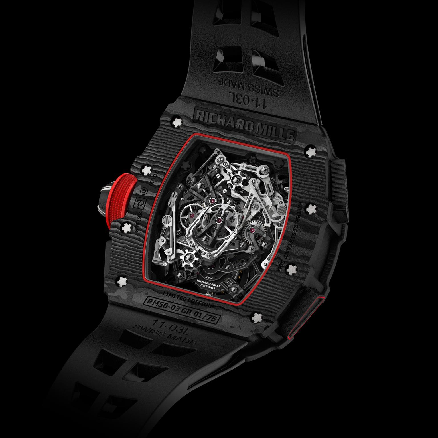 RM 50-03 McLaren F1 chronograph watch