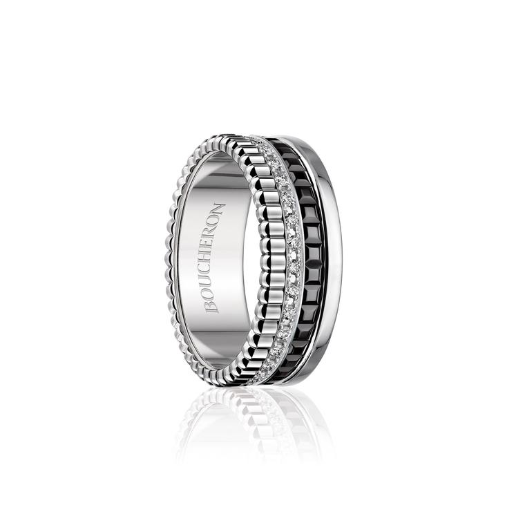 Boucheron Quatre diamond ring