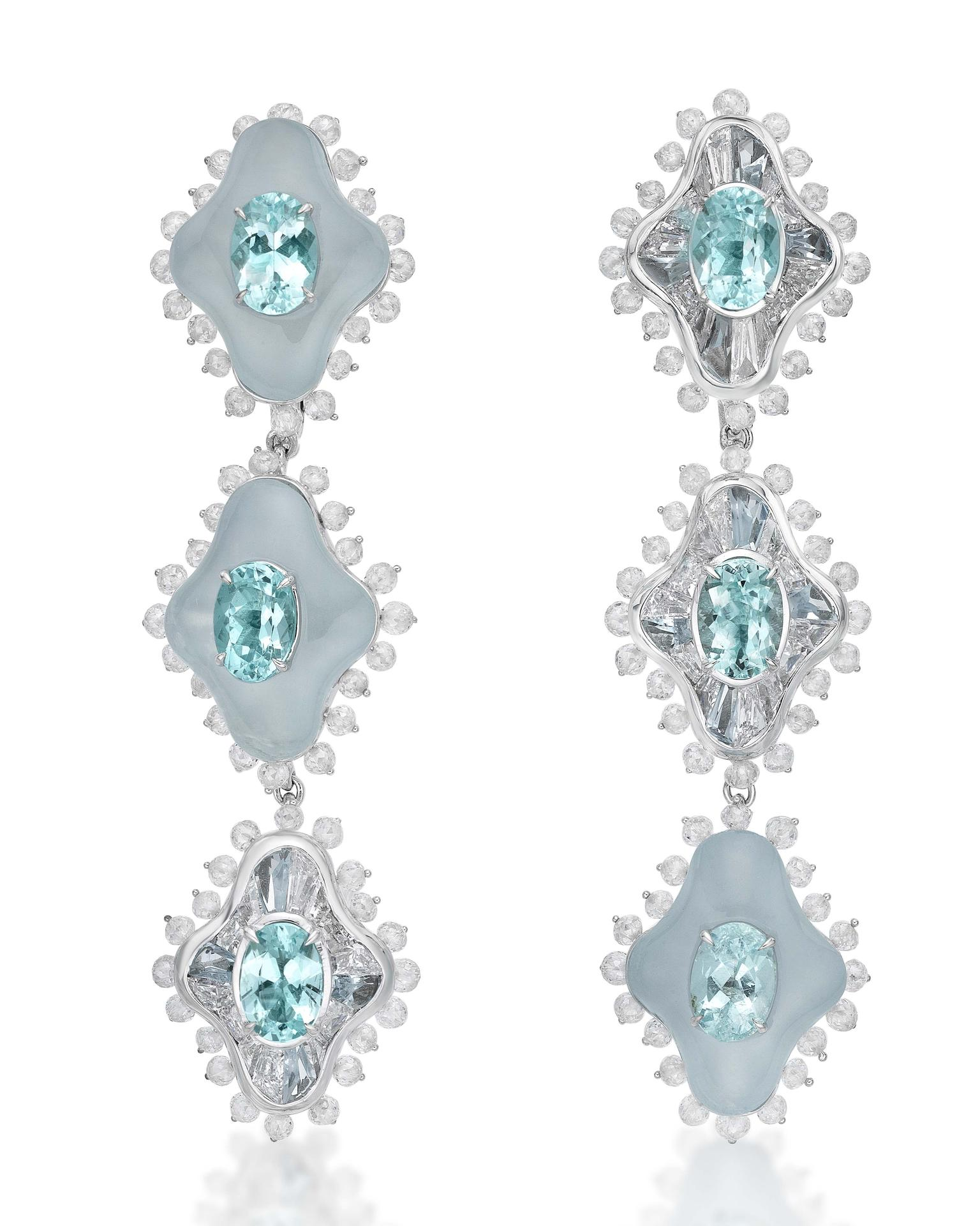 Paraiba Earrings from Sarah Ho