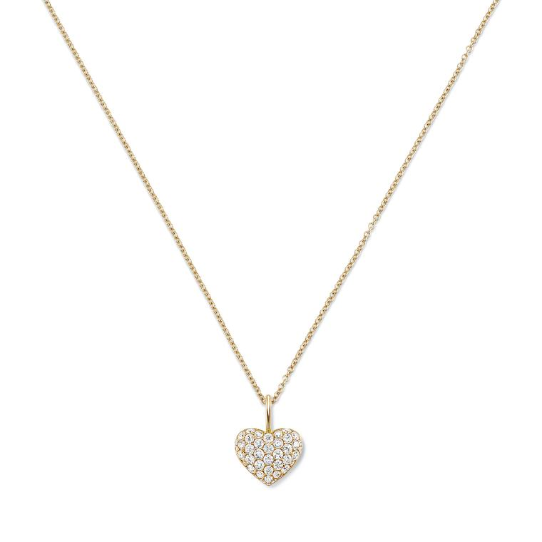 Harry Winston heart charm