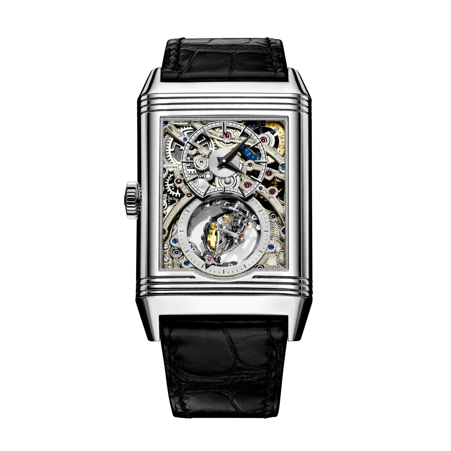 Jaeger-LeCoultre Reverso Tribute Gyrotourbillon watch back