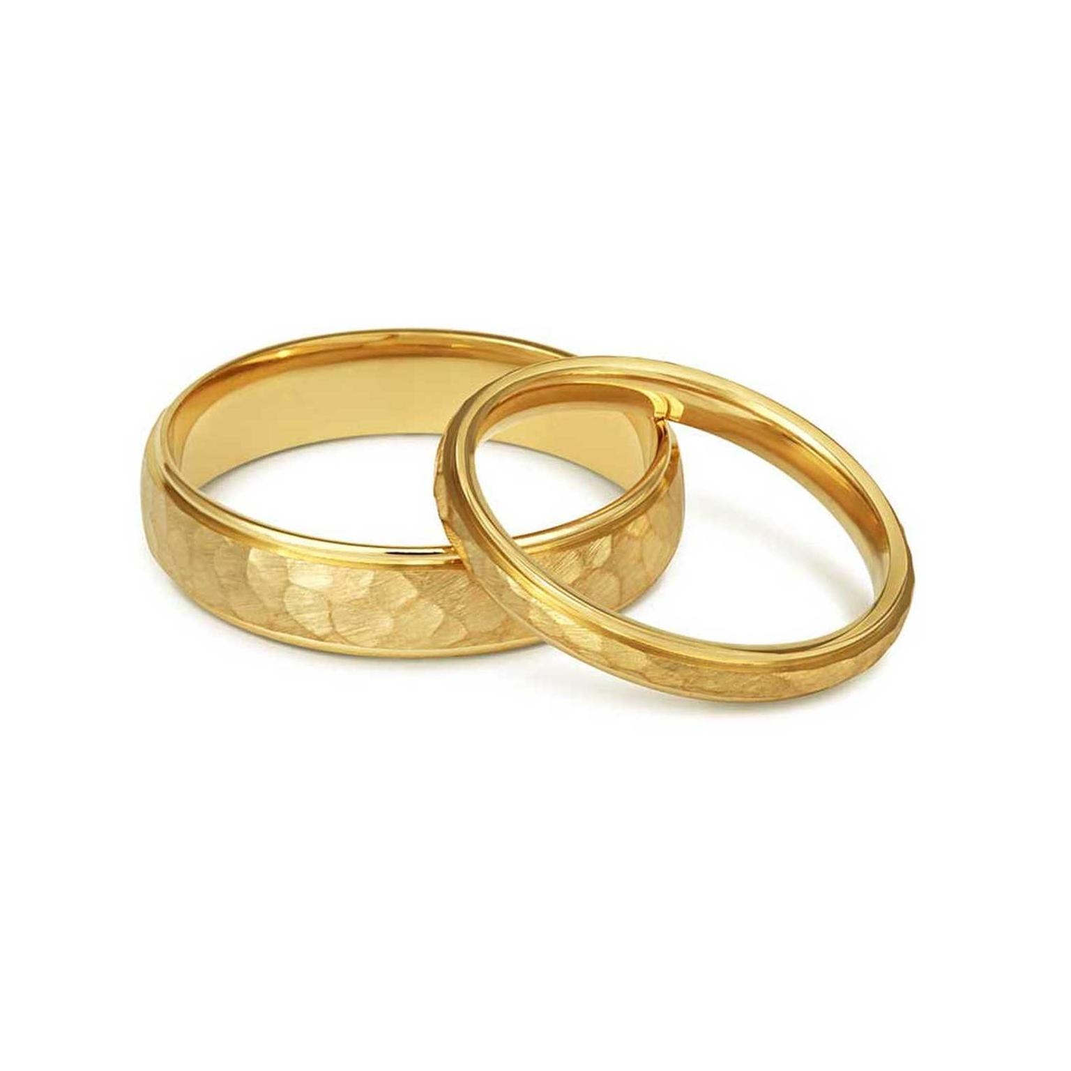 Cred Jewellery Fairtrade gold wedding rings