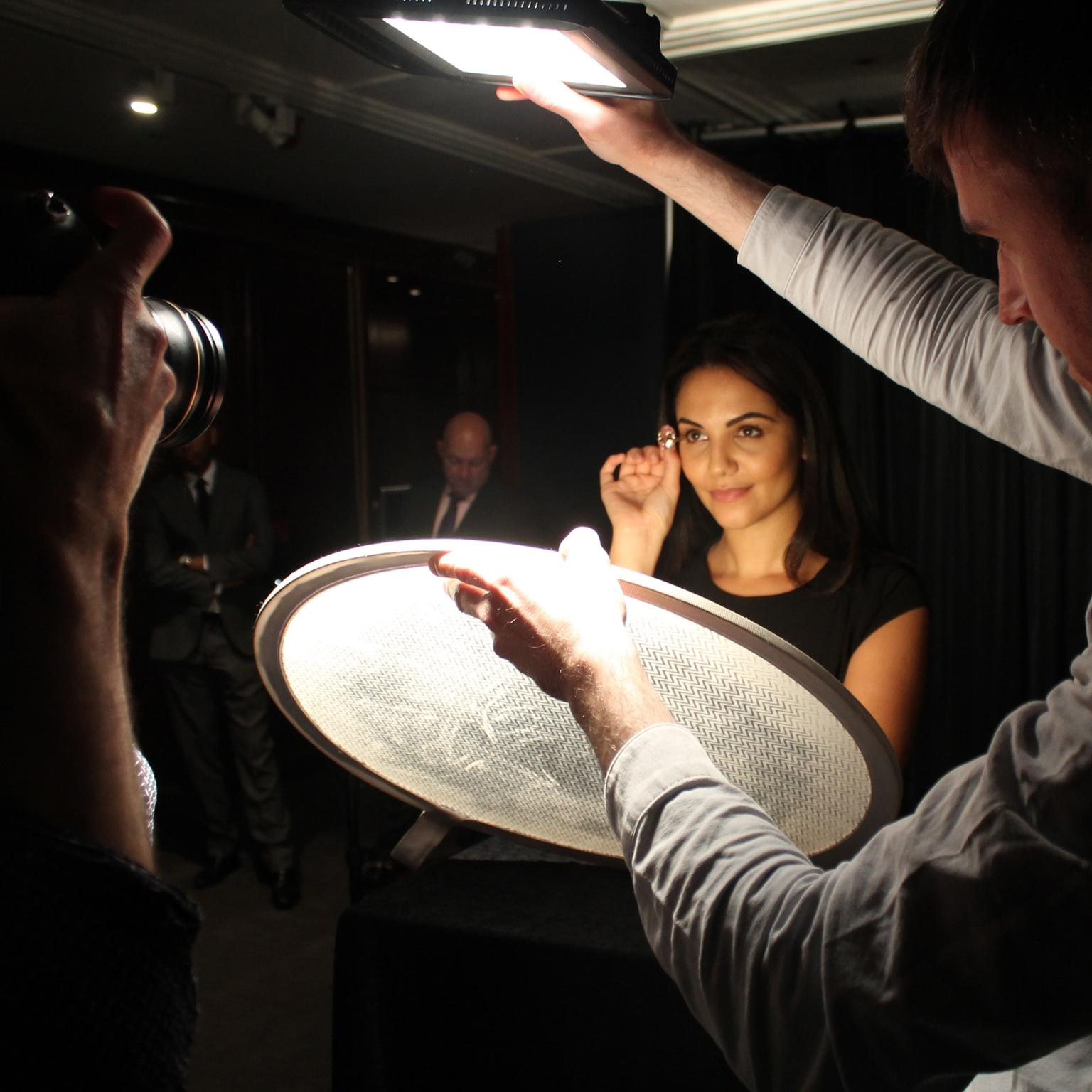 Shooting the Pink Star diamond at Sotheby's London