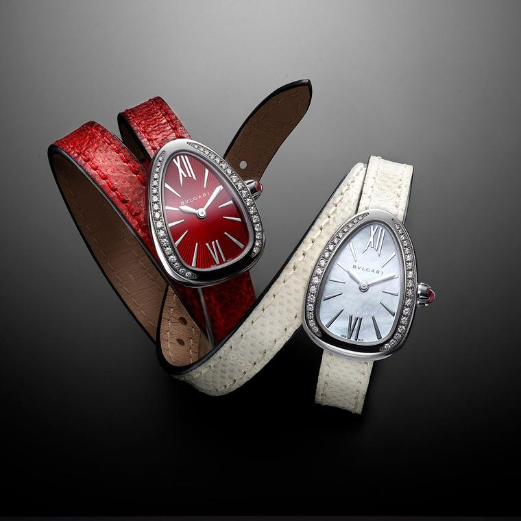 Bulgari Serpenti Karung with interchangeable straps