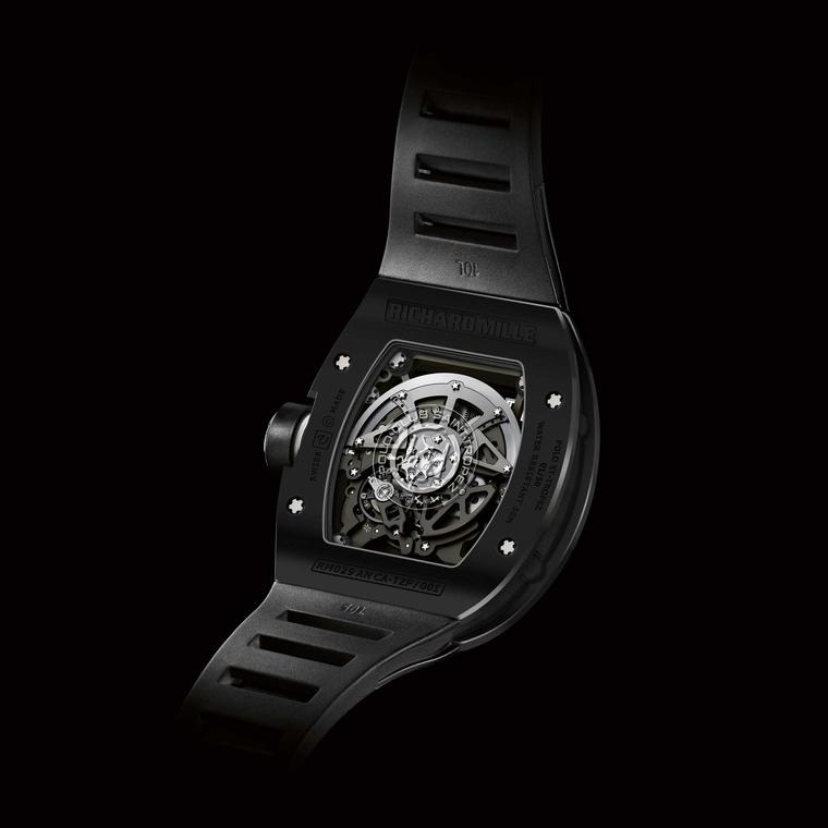 Richard Mille Polo Club Saint-Tropez Black RM 029 back