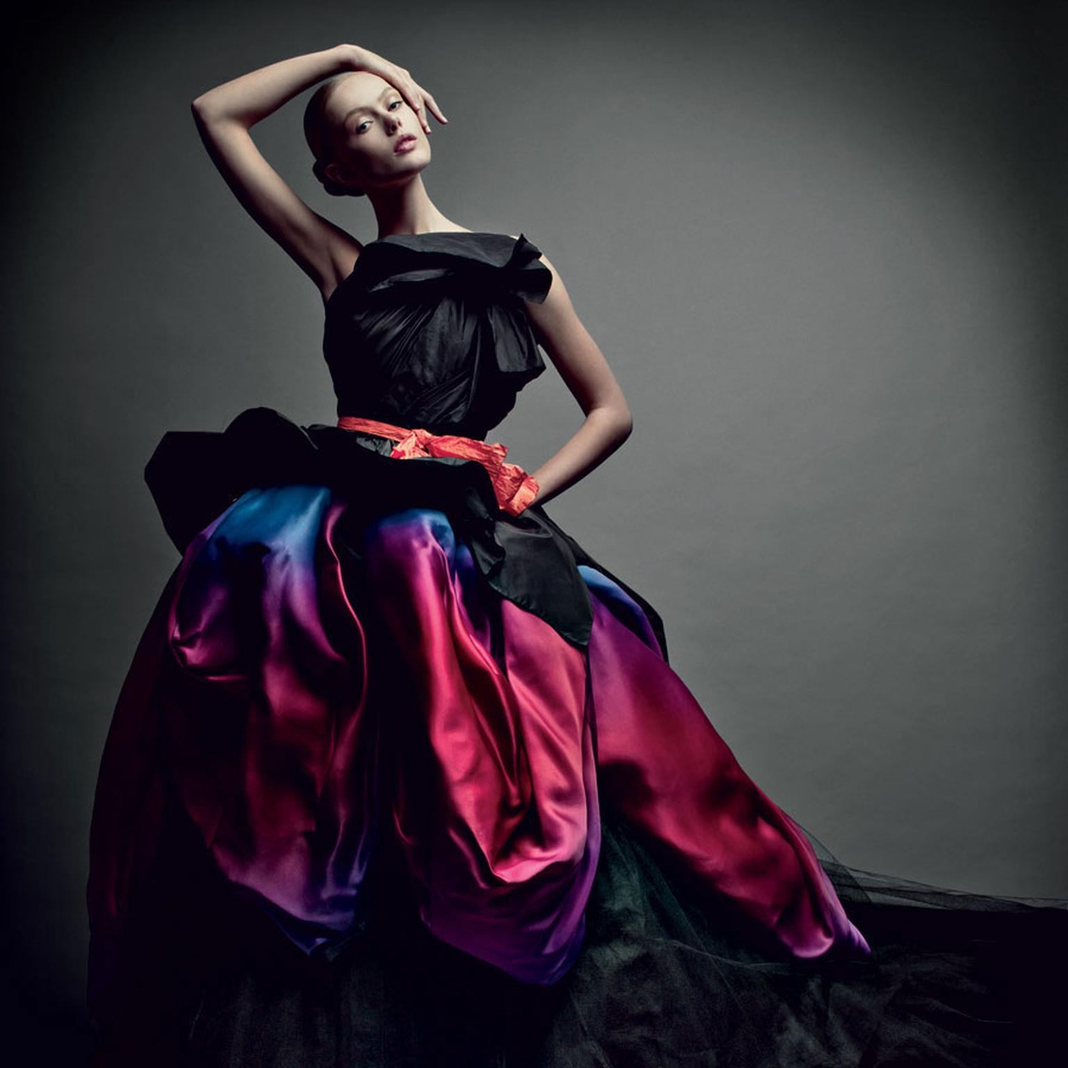 Dior Grand Bal ball gown watch inspiration