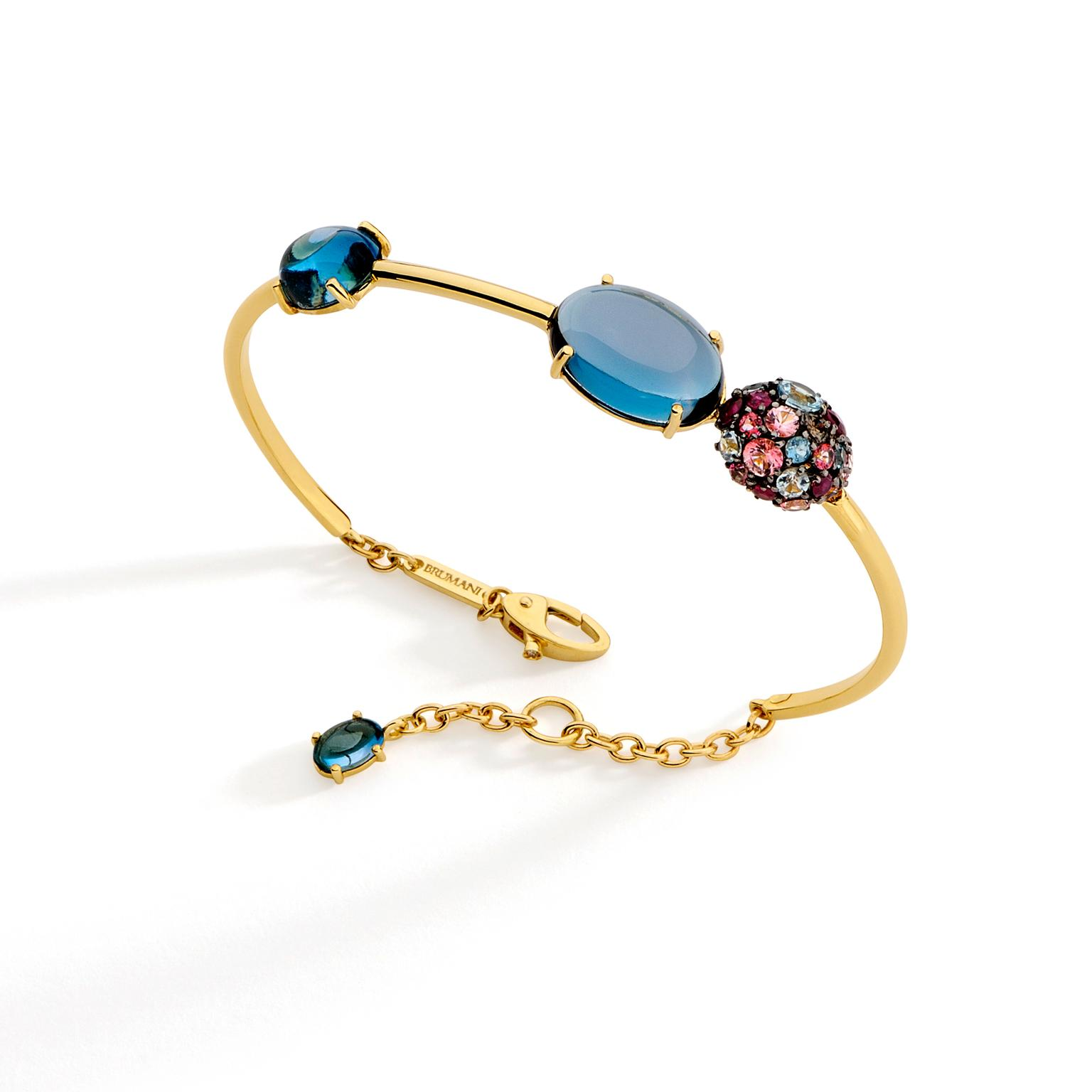 Brumani Baobab topaz, ruby and diamond bracelet