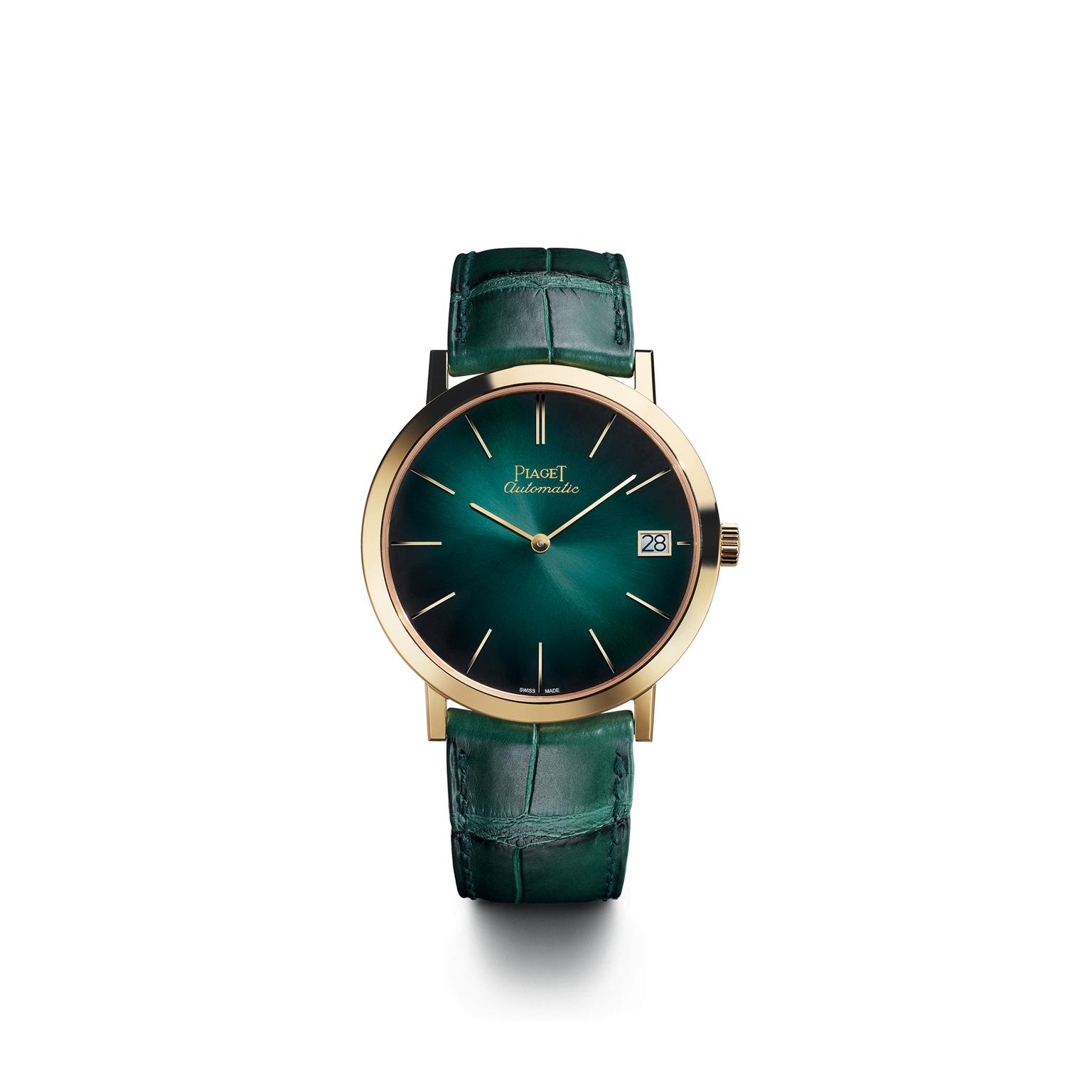 Piaget Altiplano 40mm pine green dial
