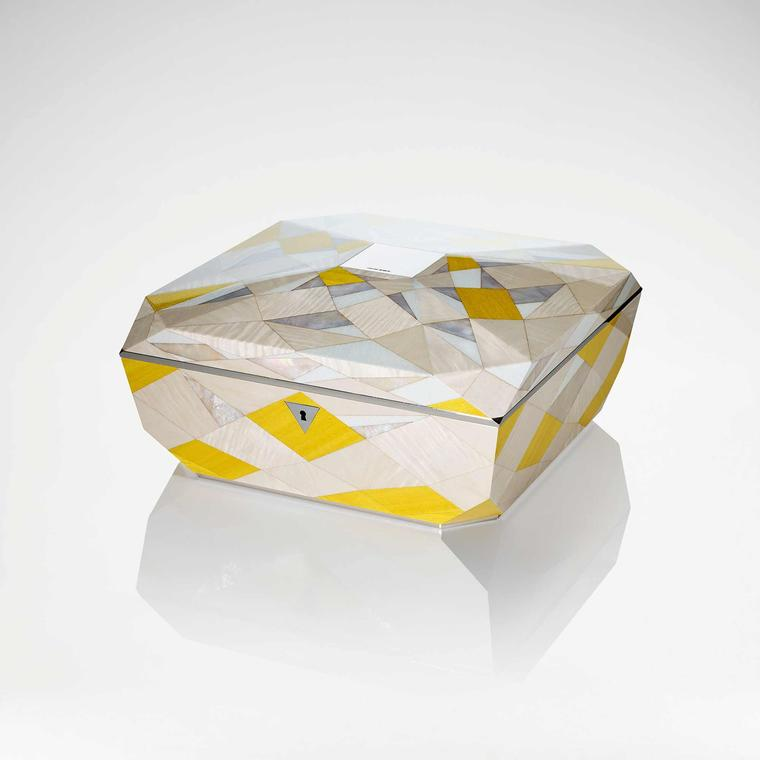 Yellow Diamond jewellery box