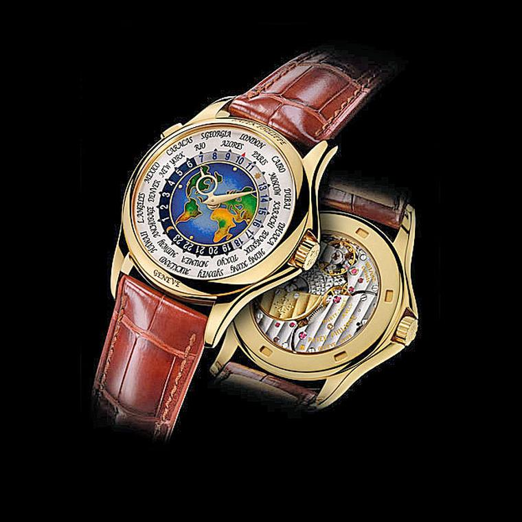 Patek Philippe World Time watch back and front
