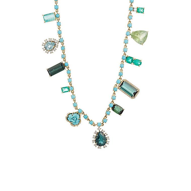 Irene Neuwirth mixed gemstone necklace