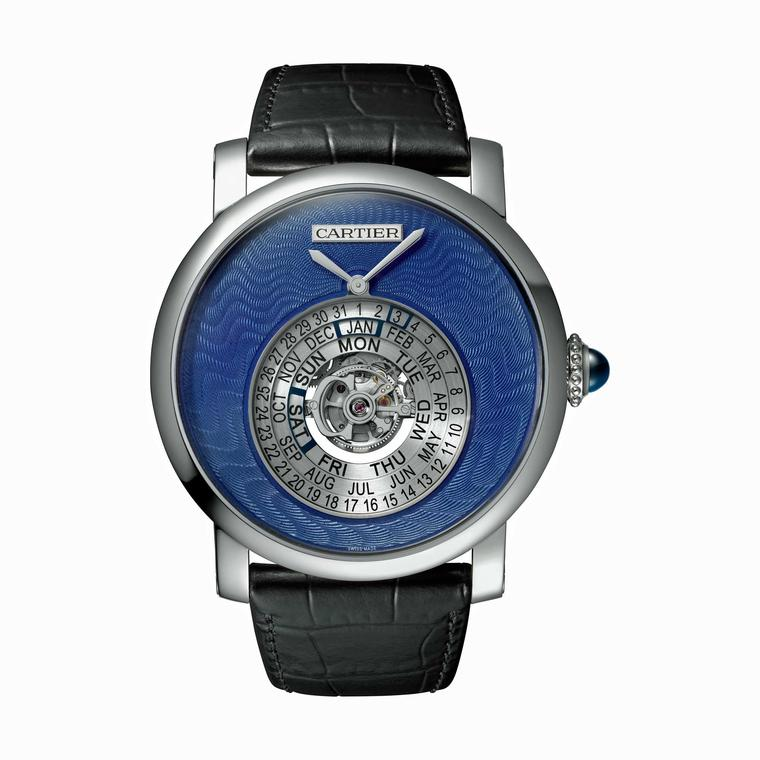 Rotonde de Cartier Astrocalendaire Tourbillon watch