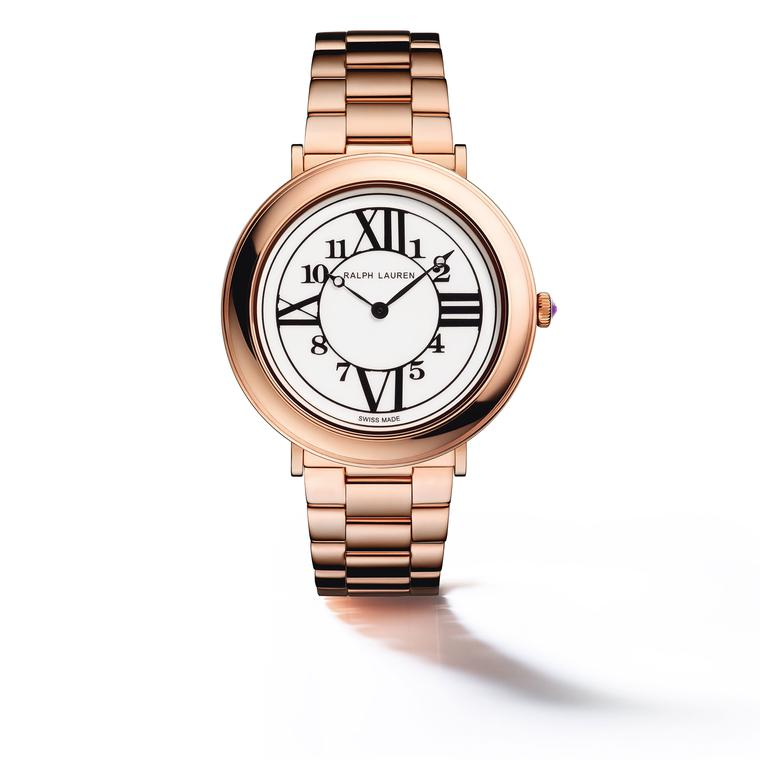 Ralph Lauren RL888 38mm in rose gold