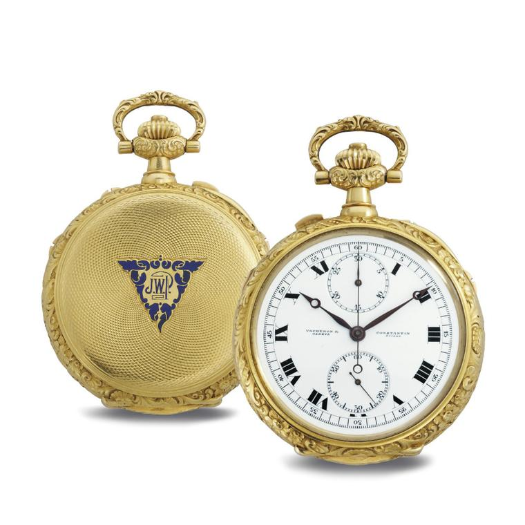 James Ward Packard astronomical pocket watch