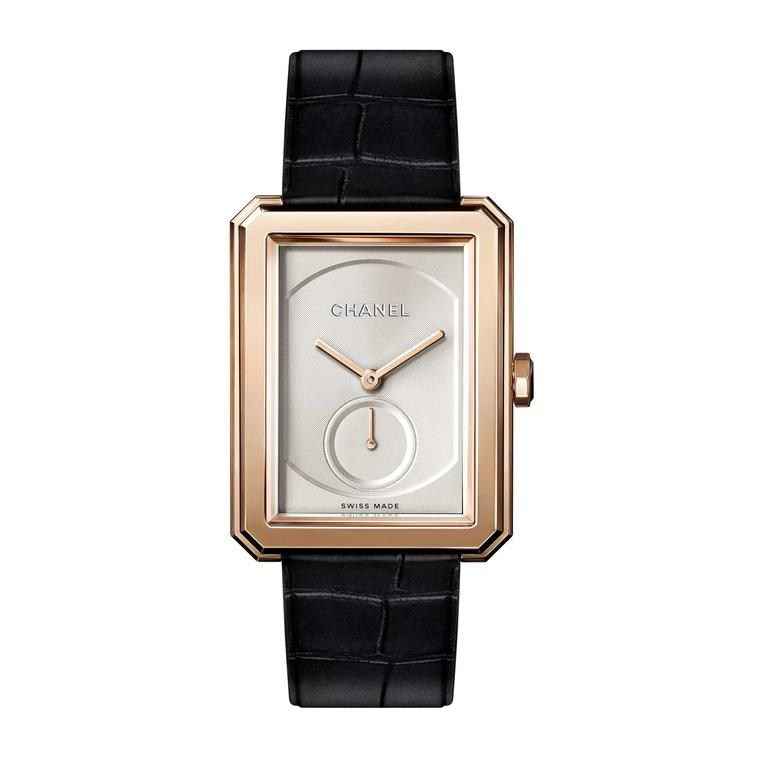 Chanel Boy.Friend watch in beige gold
