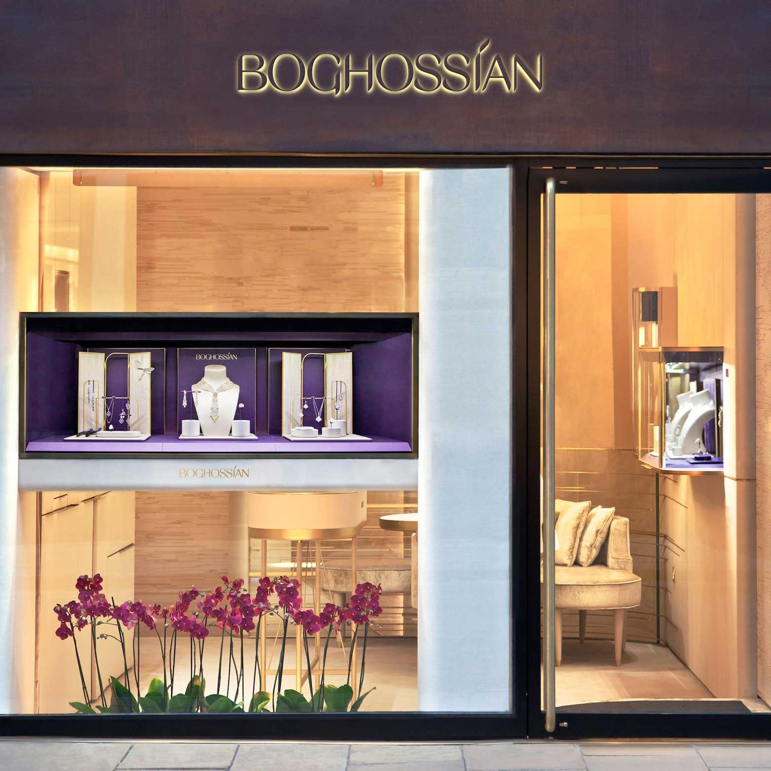 The Boghossian boutique on Bond Street in London