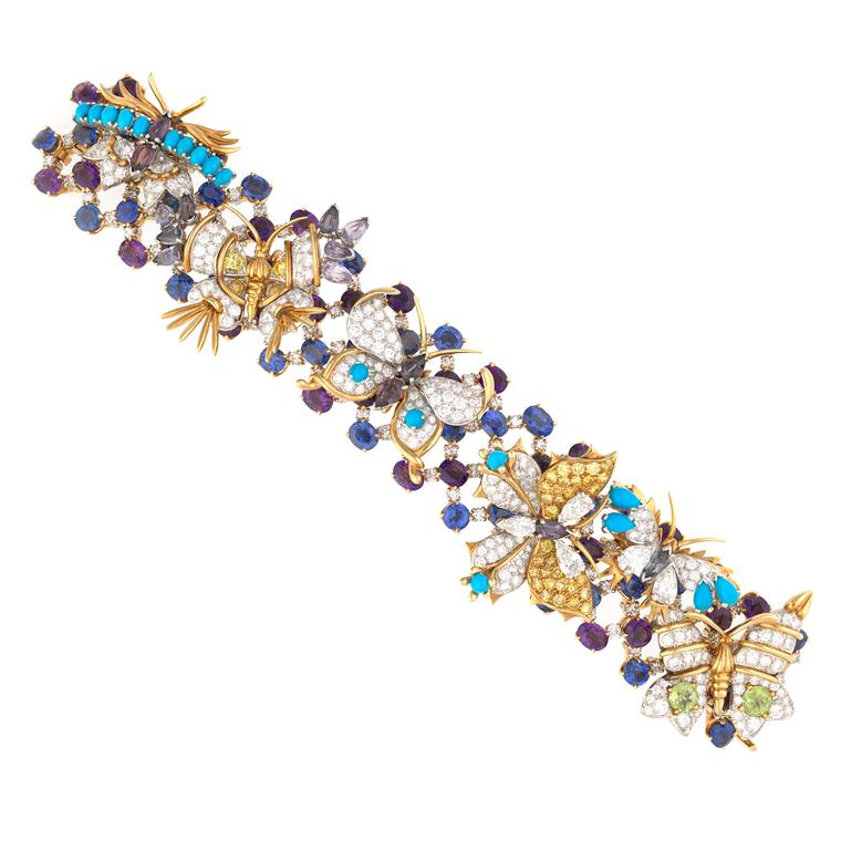 Jean Schlumberger Butterflies bracelet for Tiffany & Co