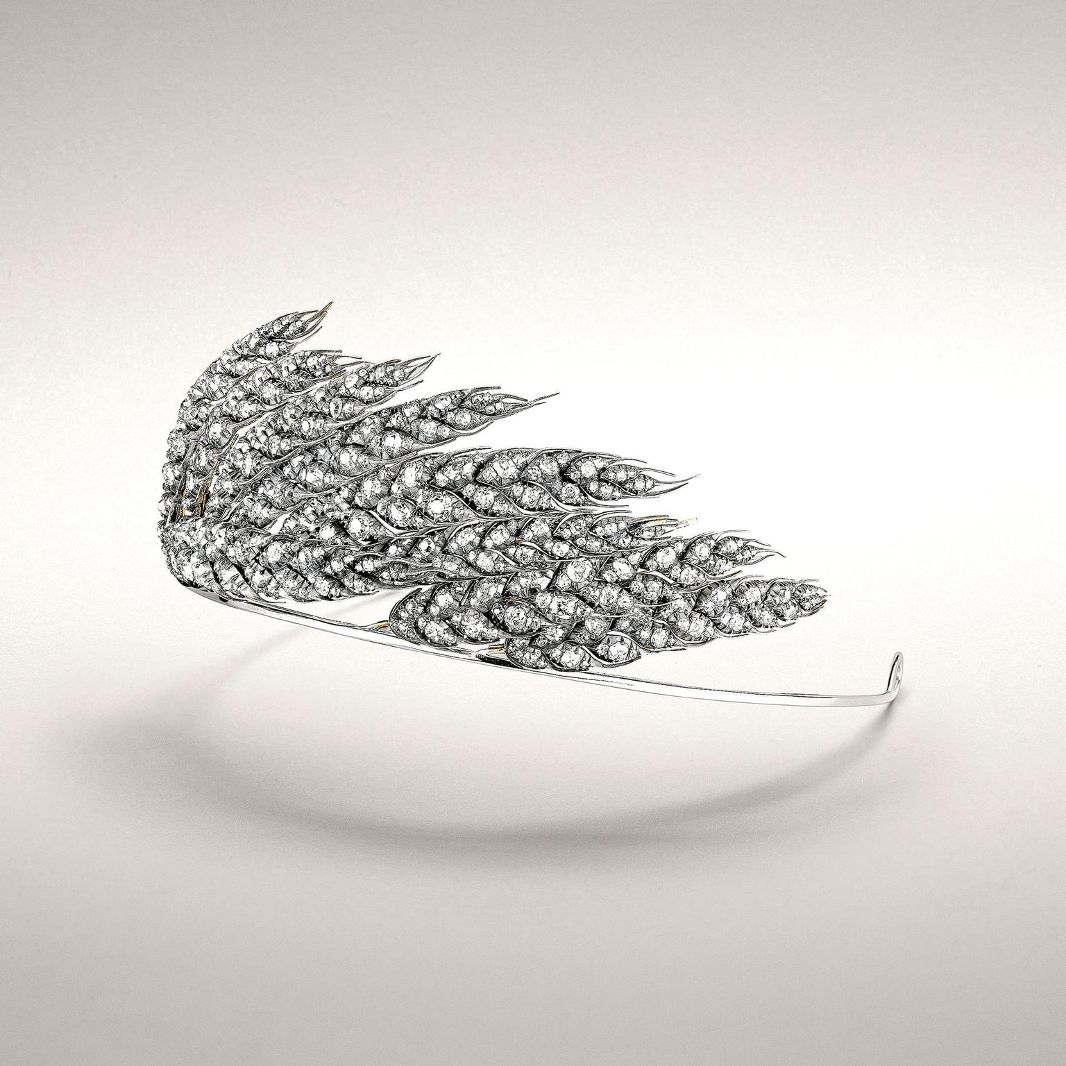 Chaumet wheat sheaf tiara
