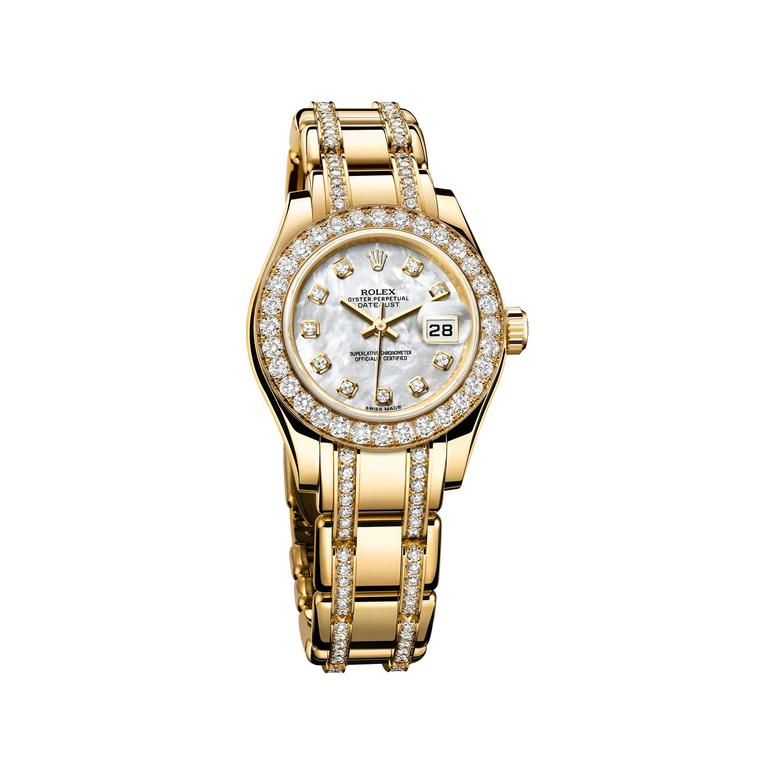 Datejust Pearlmaster 34 jewellery watch