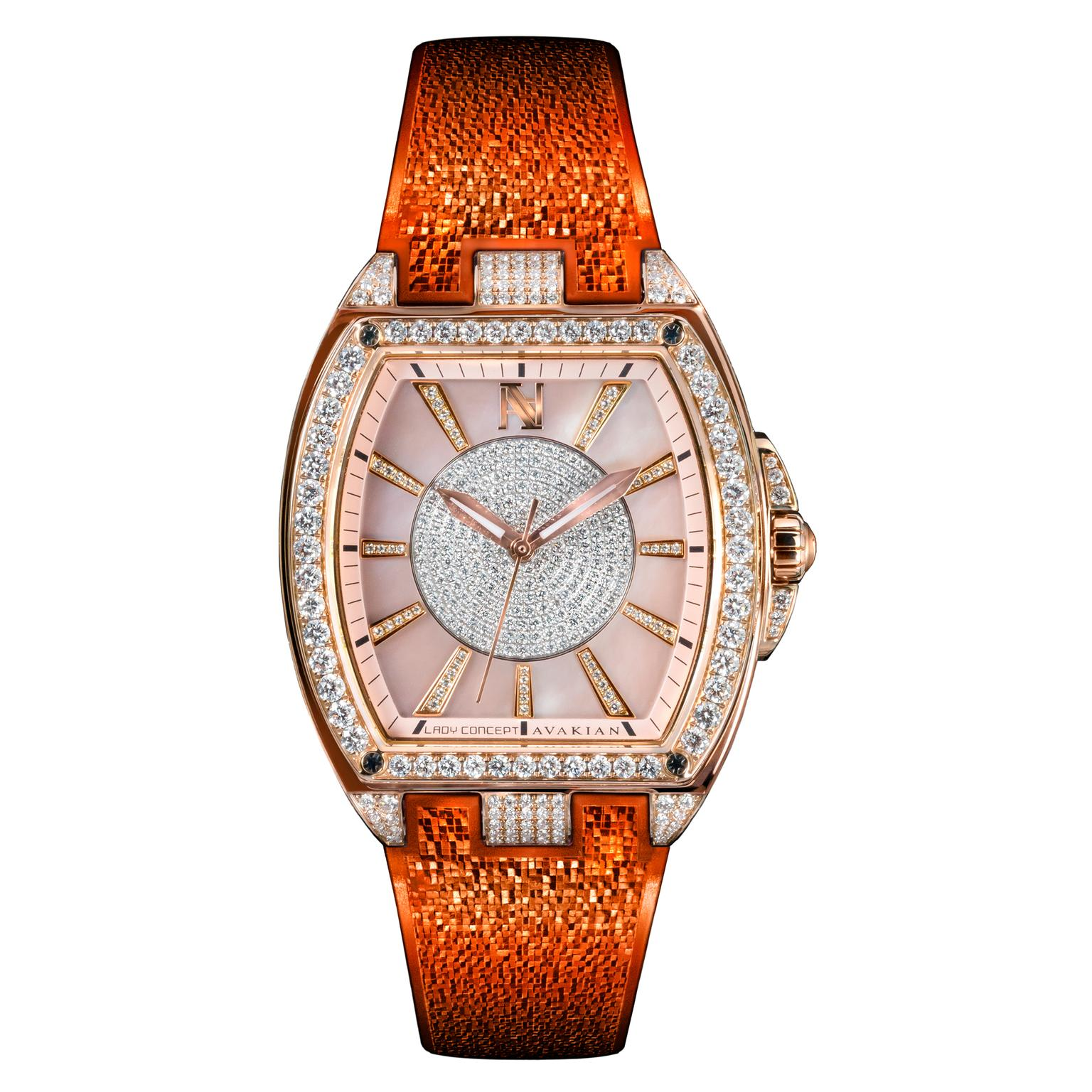 Avakian Lady Concept Orange watch