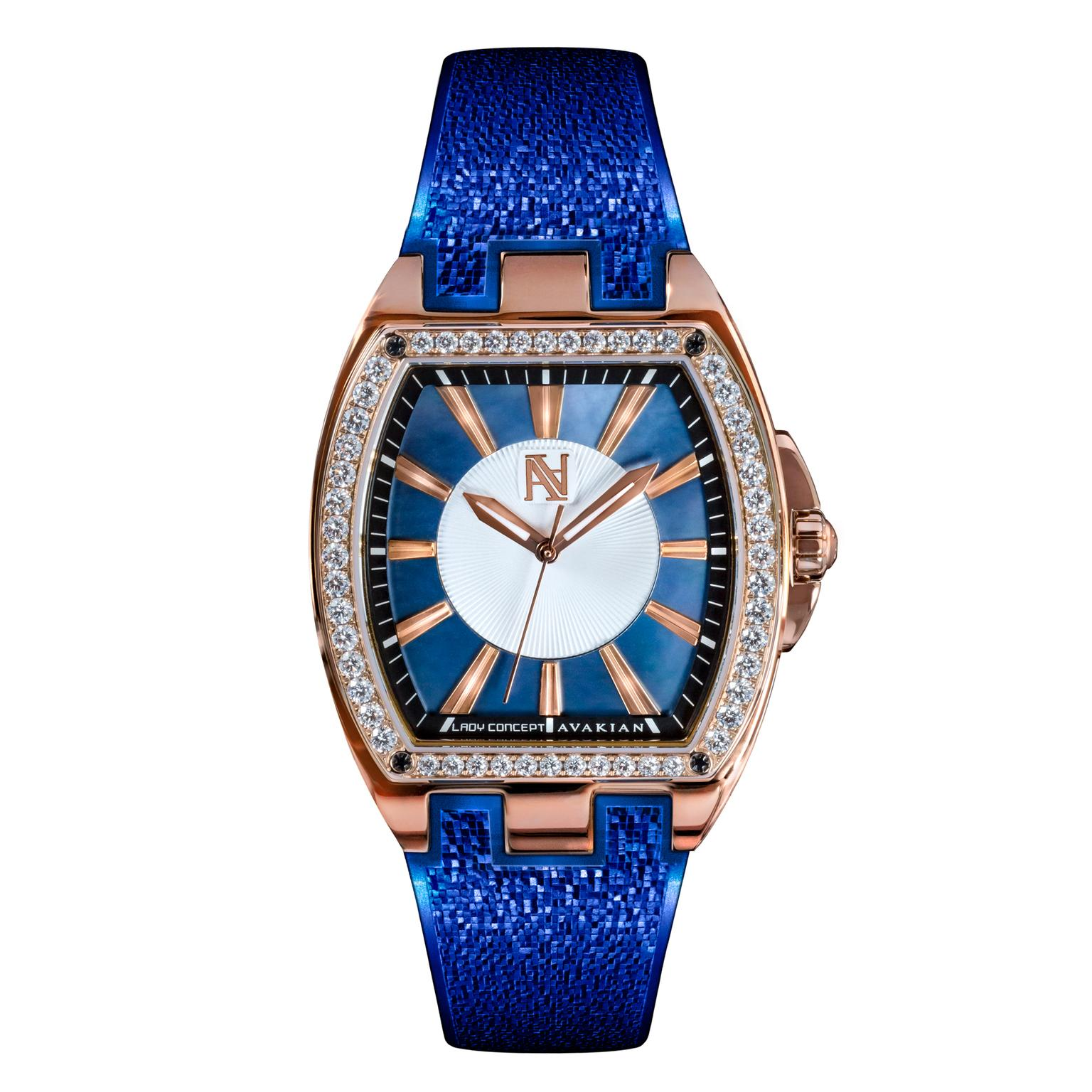 Avakian Lady Concept Blue watch