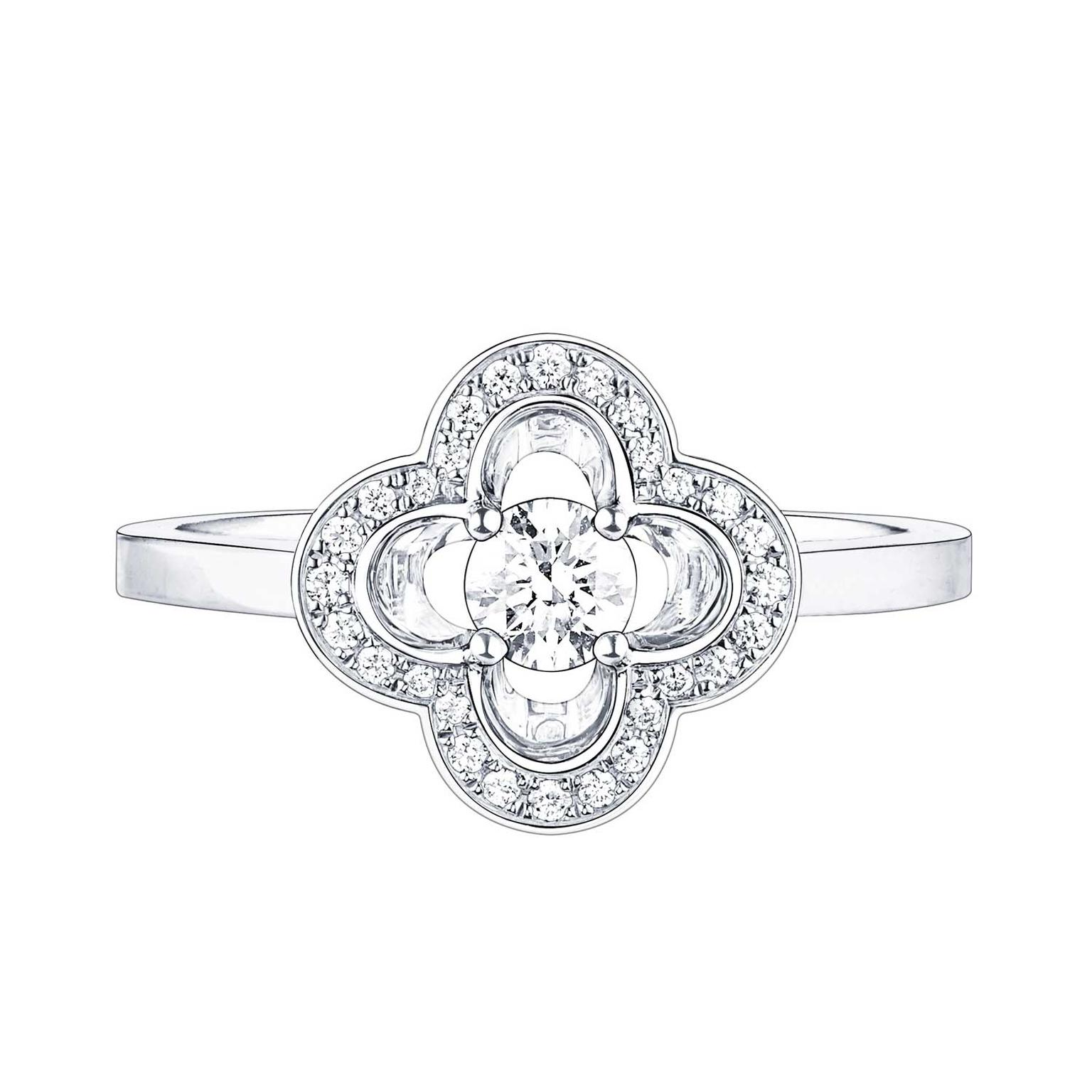 Louis Vuitton Les Ardentes diamond ring