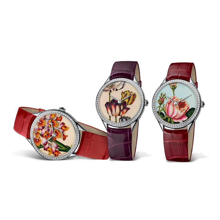 Vacheron Constantin watches capture the ephemeral beauty of flowers