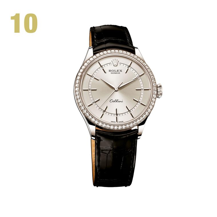10 Rolex Cellini Time white gold watch