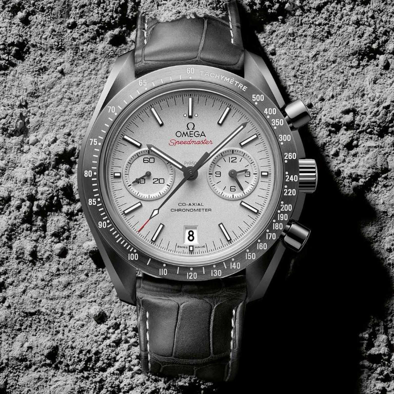 Omega Speedmaster Moonwatch Grey Side of the Moon Chronograph