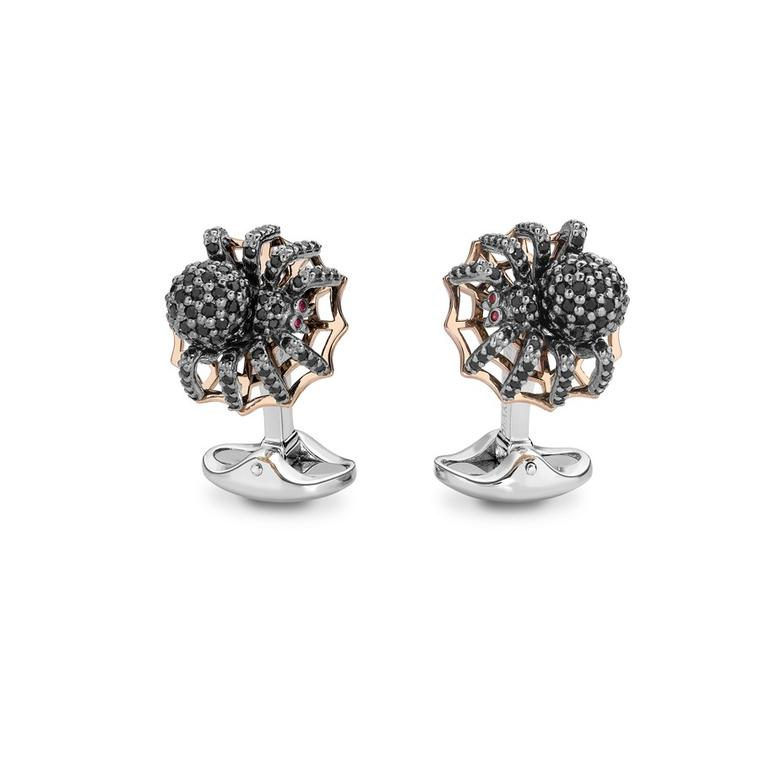 Deakin & Francis spider cuff links