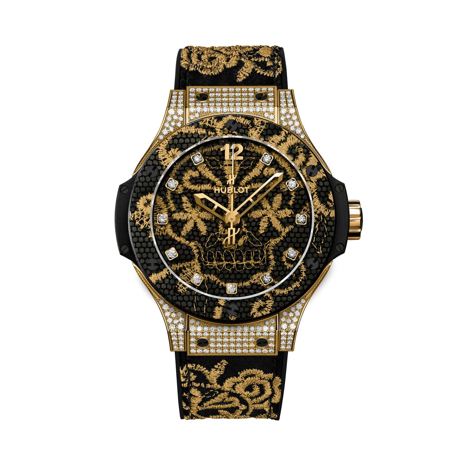 Hublot-black-and-gold-lace-watch