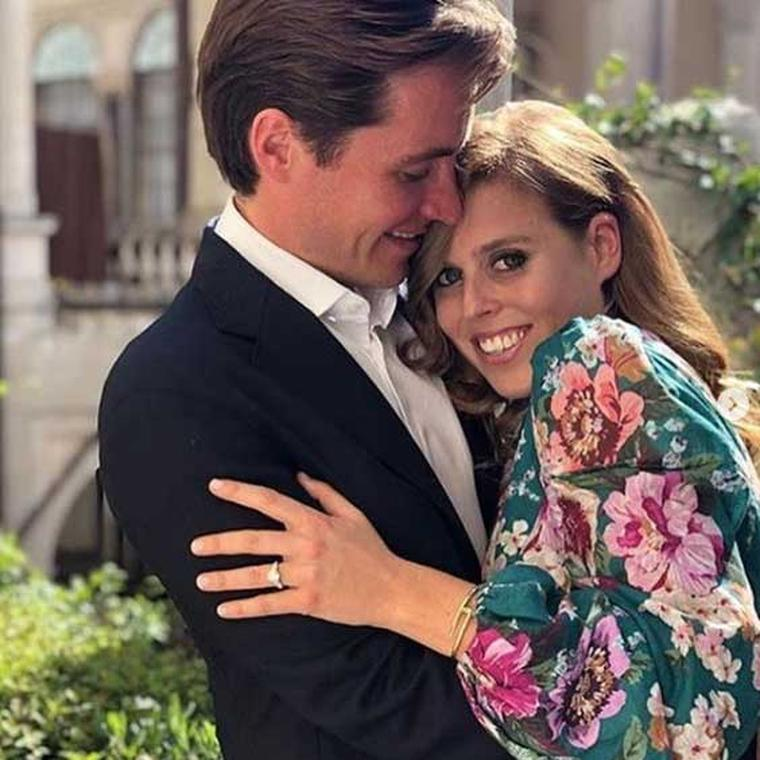 Princess Beatrice's engagement ring revealed