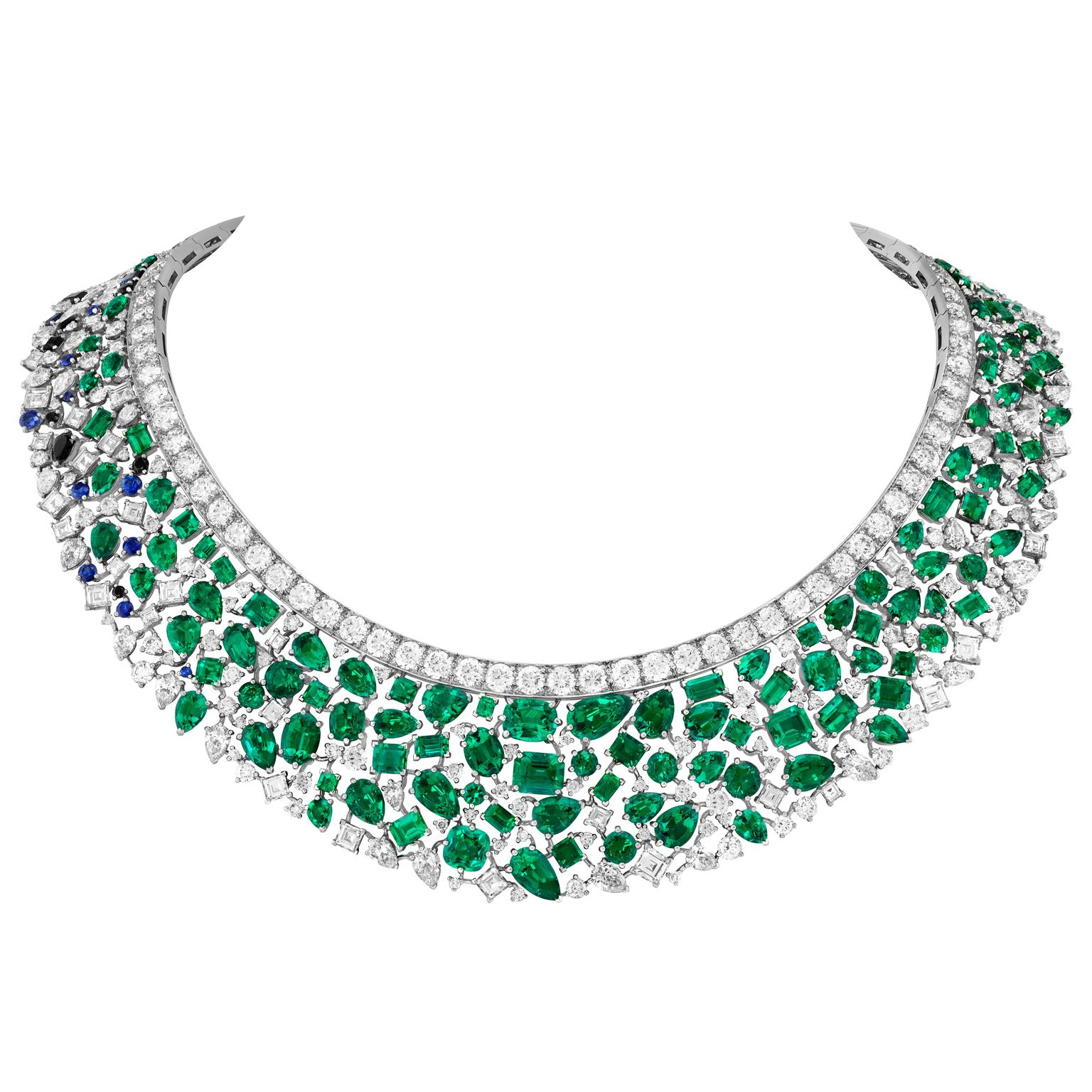 Centura d'émeraude necklace by Van Cleef & Arpels